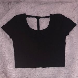 Charlotte Russe Tops - NEW! Charlotte Russe T Back Crop Top Size Small